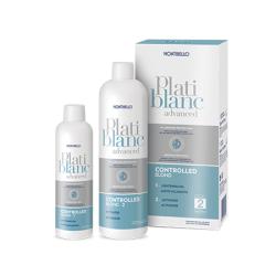Montibello - Montibello Platiblanc Controlled Blond Kontrollü Sarı Saç Açıcı 200 ml ve Aktivatör 400 ml