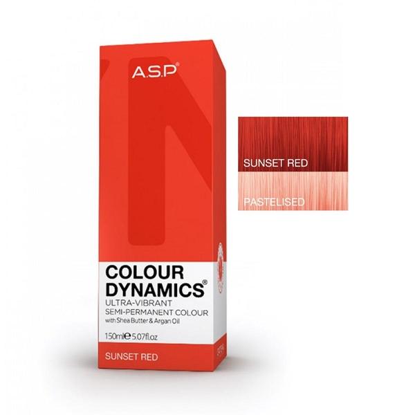 Affinage - Asp Colour Dynamics Sunset Red Yarı Kalıcı Saç Boyası