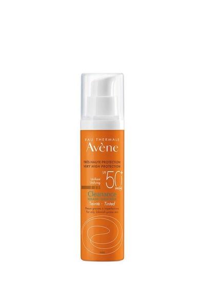 Avene - Avene Cleanance Tinted Yağlı Ciltler İçin Renkli Güneş Koruyucu SPF50+ 50 ml