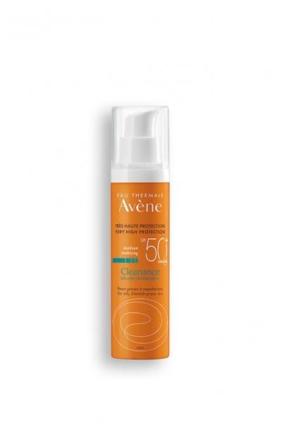 Avene - Avene Cleanance Yağlı Ciltler İçin Güneş Koruyucu Krem SPF 50+ 50 ml