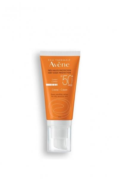 Avene - Avene Kuru ve Hassas Ciltler İçin Güneş Koruyucu Krem SPF 50+ 50 ml