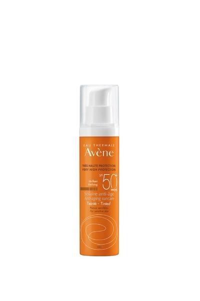 Avene - Avene Solaire Anti-age Yaşlanma Karşıtı Renkli Güneş Koruyucu SPF50+ 50 ml