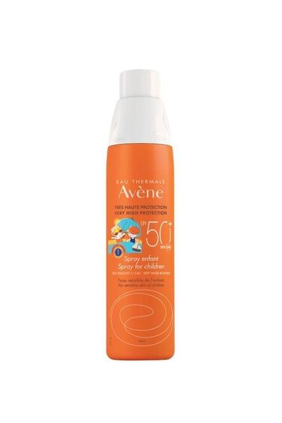 Avene - Avene Spray Enfant Çocuklar İçin Güneş Koruyucu Sprey SPF 50+ 200 ml