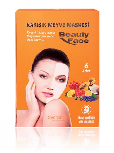 Beauty Face - Beauty Face Nemlendirici ve Yatıştırıcı Karışık Meyve Maskesi