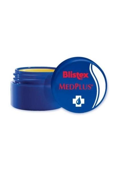 Blistex - Blistex Med Plus Onarıcı ve Koruyucu Dudak Kremi Okaliptüs & Kafur 7 ml