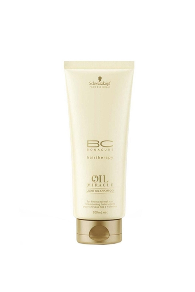 Schwarzkopf - Bonacure Oil Miracle Light Oil Şampuan 200 ml