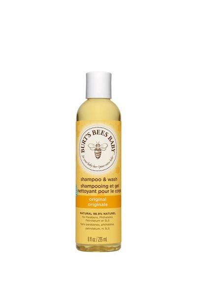 Burts Bees - Burts Bees Bebek Saç ve Vücut Şampuanı 235 ml