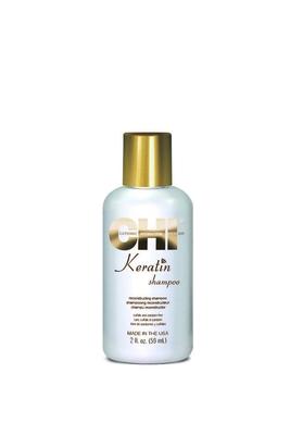 Chi - CHI Keratin Yıpranmış Zayıf Saçlar İçin Onarıcı Sülfatsız Şampuan 59ml