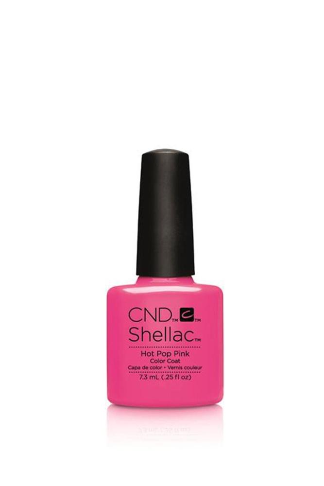 Cnd Shellac Kalıcı Oje Hot Pop Pink