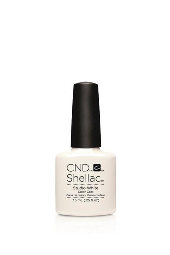 Cnd Shellac Kalıcı Oje Studio White