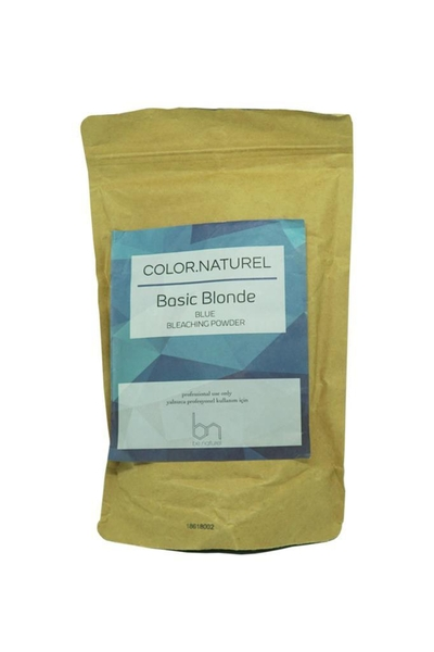 Color Naturel - Color Naturel Basic Blonde Mavi Toz Açıcı 500 g