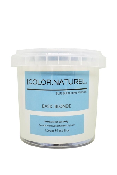 Color Naturel - Color Naturel Basic Blonde Toz Açıcı Mavi 1000 g