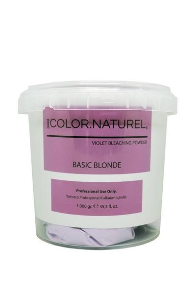 Color Naturel - Color Naturel Basic Blonde Toz Açıcı Viyole 1000 g