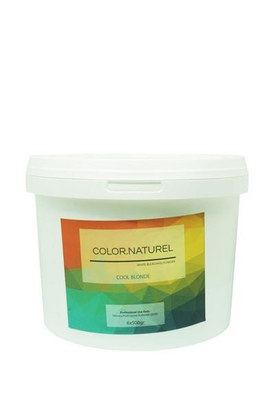 Color Naturel - Color Naturel Cool Blonde Beyaz Toz Açıcı 6 x 500 g