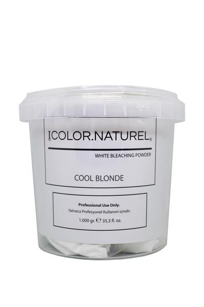 Color Naturel - Color Naturel Cool Blonde Toz Açıcı Beyaz 1000 g