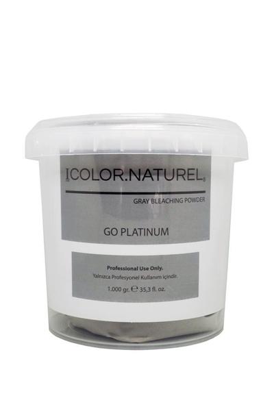 Color Naturel - Color Naturel Go Platinum Toz Açıcı Gri 1000 g