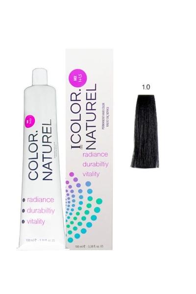 Color Naturel - Color Naturel Saç Boyası 1.0 Siyah 100 ml