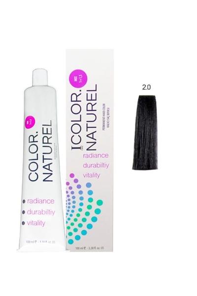 Color Naturel - Color Naturel Saç Boyası 2.0 Koyu Kestane 100 ml