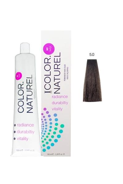Color Naturel - Color Naturel Saç Boyası 5.0 Kahve 100 ml