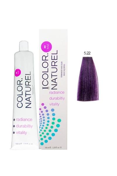 Color Naturel - Color Naturel Saç Boyası 5.22 Koyu Yoğun Viyole 100 ml