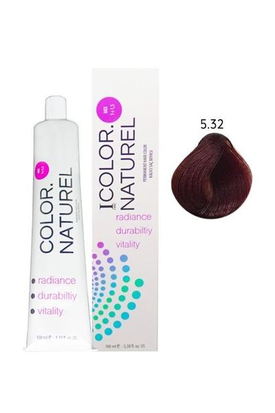 Color Naturel - Color Naturel Saç Boyası 5.32 Koyu Sahra Bej 100 ml