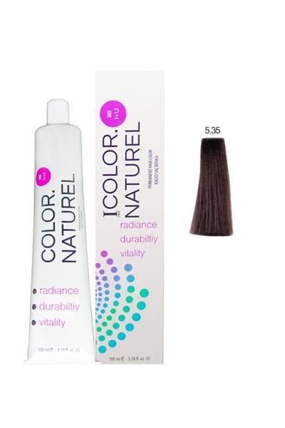 Color Naturel - Color Naturel Saç Boyası 5.35 Koyu Altın Akaju 100 ml