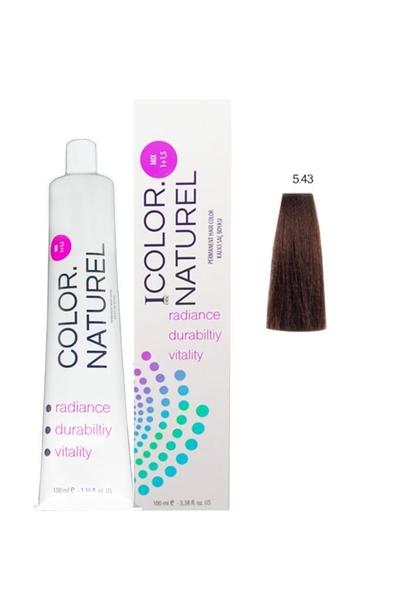 Color Naturel - Color Naturel Saç Boyası 5.43 Koyu Bakır Altın 100 ml