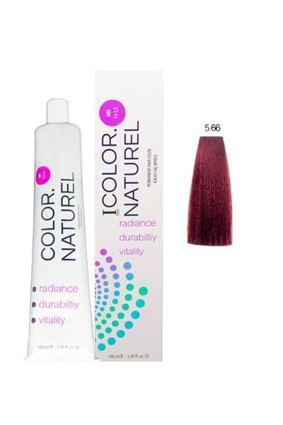 Color Naturel - Color Naturel Saç Boyası 5.66 Koyu Yoğun Kızıl 100 ml