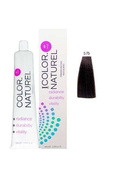 Color Naturel - Color Naturel Saç Boyası 5.75 Koyu Sıcak Kestane 100 ml