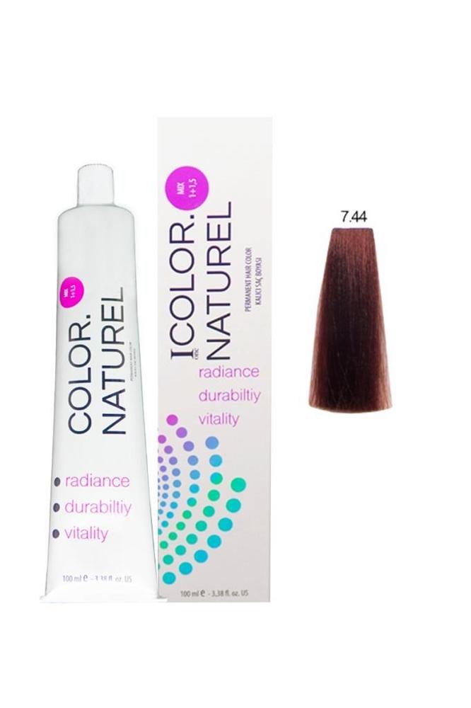 Color Naturel Saç Boyası 7.44 Yoğun Bakır 100 ml