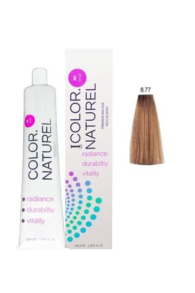 Color Naturel - Color Naturel Saç Boyası 8.77 Karamel 100 ml