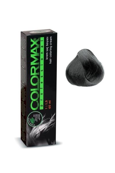 Colormax - Colormax Saç Boyası Koyu Gri 60 ml