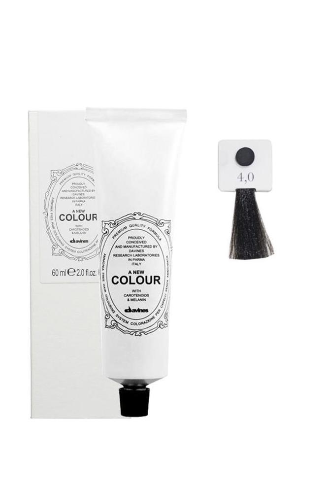 Davines A New Colour Saç Boyası 4,0 Orta Kahve 60 ml