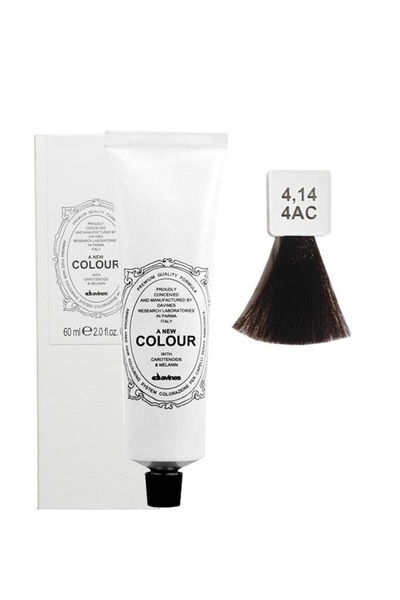 Davines - Davines A New Colour Saç Boyası 4,14 Küllü Bakır Kahve 60 ml
