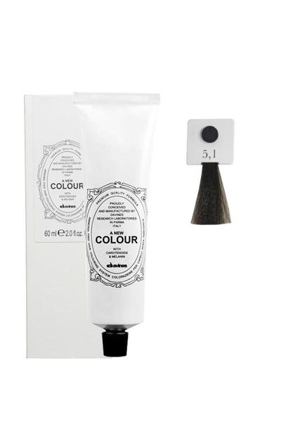 Davines - Davines A New Colour Saç Boyası 5,1 Küllü Açık Kahve 60 ml