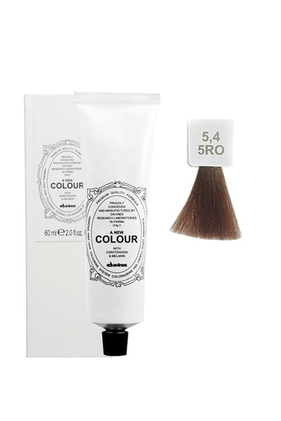 Davines - Davines A New Colour Saç Boyası 5,4 Bakır Açık Kahve 60 ml
