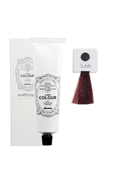 Davines - Davines A New Colour Saç Boyası 5,66 Açık Kahve Yoğun Kızıl 60 ml
