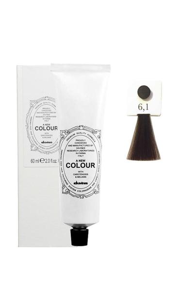 Davines - Davines A New Colour Saç Boyası 6,1 Küllü Koyu Kumral 60 ml