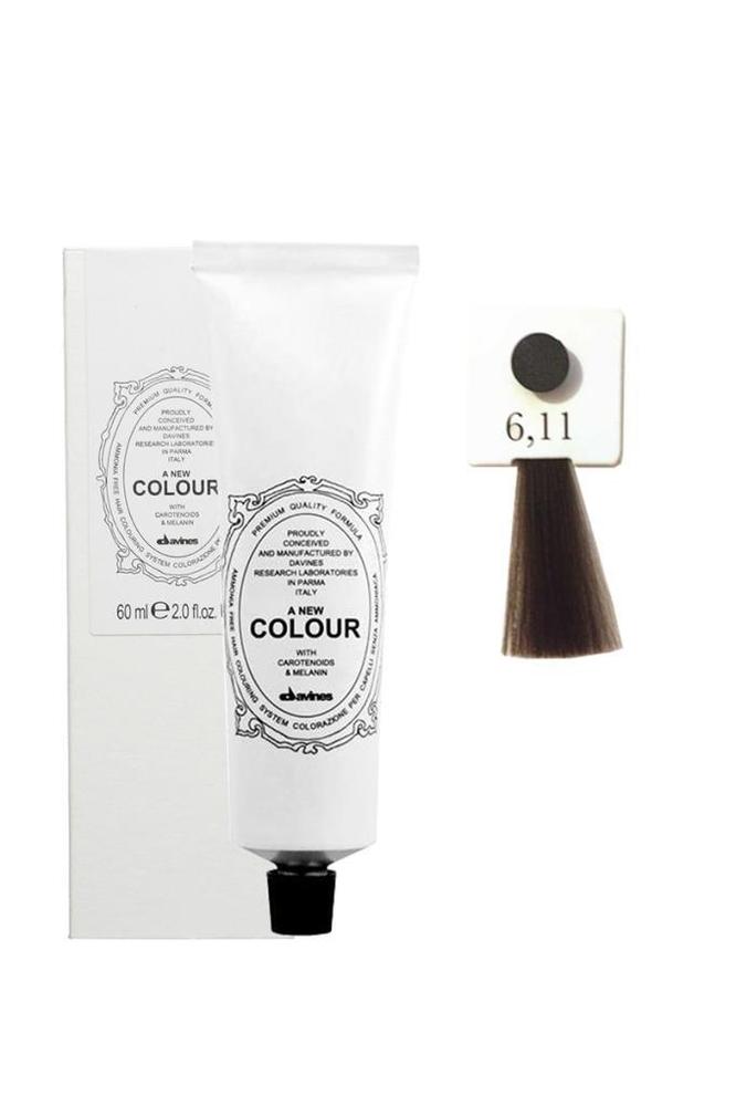 Davines A New Colour Saç Boyası 6,11 Yoğun Küllü Koyu Kumral 60 ml