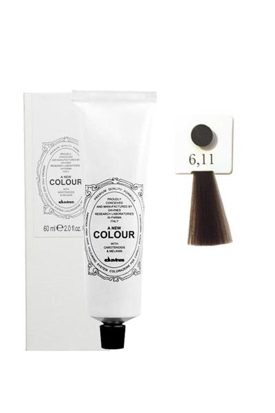 Davines - Davines A New Colour Saç Boyası 6,11 Yoğun Küllü Koyu Kumral 60 ml