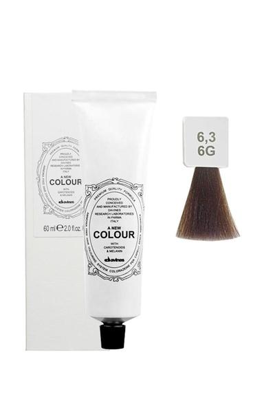 Davines - Davines A New Colour Saç Boyası 6,3 Koyu Kumral Altın 60 ml
