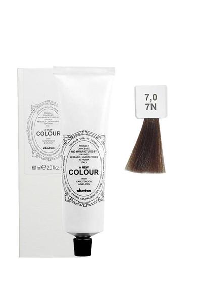 Davines - Davines A New Colour Saç Boyası 7,0 Orta Kumral 60 ml