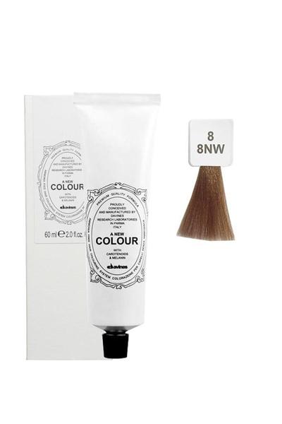 Davines - Davines A New Colour Saç Boyası 8 Açık Kumral 60 ml