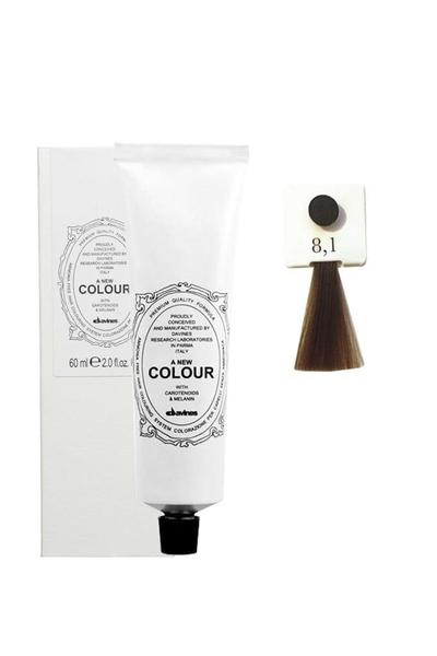 Davines - Davines A New Colour Saç Boyası 8,1 Açık Küllü Kumral 60 ml