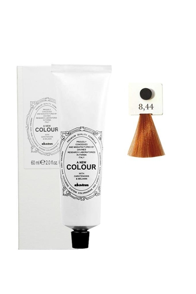 Davines - Davines A New Colour Saç Boyası 8,44 Yoğun Bakır Açık Kumral 60 ml
