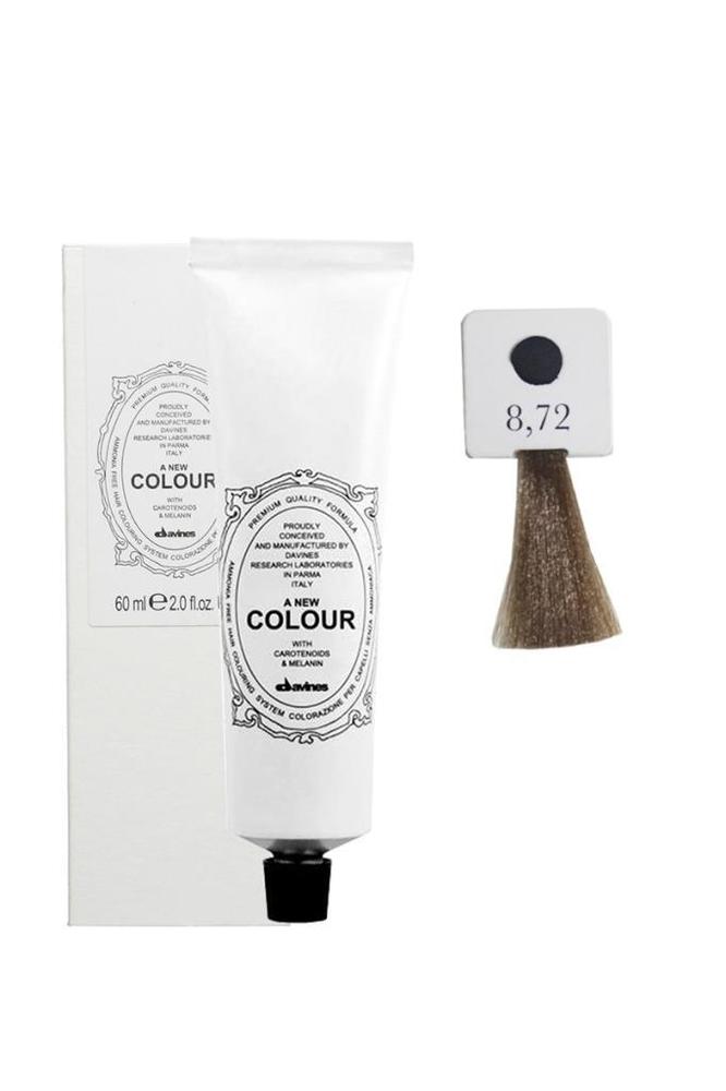Davines A New Colour Saç Boyası 8,72 Açık Kumral Soğuk İrize 60 ml