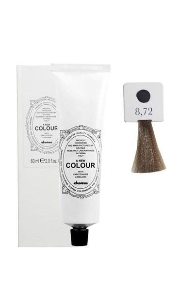 Davines - Davines A New Colour Saç Boyası 8,72 Açık Kumral Soğuk İrize 60 ml