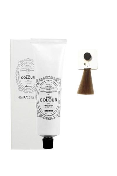 Davines - Davines A New Colour Saç Boyası 9,1 Çok Açık Kumral Küllü 60 ml