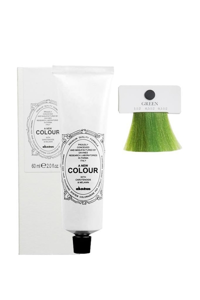 Davines - Davines A New Colour Saç Boyası Yeşil 60 ml