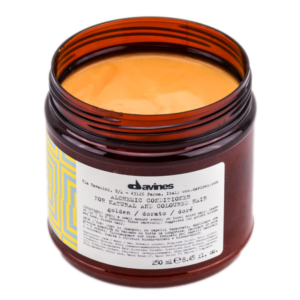 Davines - Davines Alchemic Golden Altın Saç Kremi 250ml